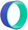 Распродажа*! Колесо-кольцо для йоги Pro Supra FI-5110 Yoga Wheel зеленый-фиолетовый - фото 1