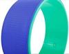 Распродажа*! Колесо-кольцо для йоги Pro Supra FI-5110 Yoga Wheel зеленый-фиолетовый - фото 3