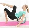 Распродажа*! Колесо-кольцо для йоги Pro Supra FI-5110 Yoga Wheel зеленый-фиолетовый - фото 4