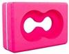 Йога-блок с отверстием Pro Supra FI-5163 розовый - фото 1