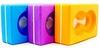 Йога-блок с отверстием Pro Supra FI-5163 фиолетовый - фото 2