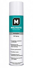 Фото 1 к товару Спрей для беговых дорожек силиконовый HouseFit Molykote Multigliss 400 мл