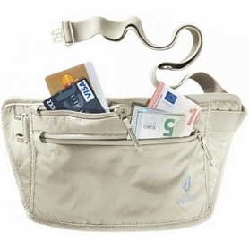 Кошелек нательный Deuter Security Money Belt II sand