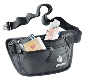 Кошелек нательный Deuter Security Money Belt I black