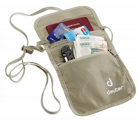 Кошелек нагрудный Deuter Security Wallet II sand-white