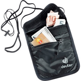 Кошелек нагрудный Deuter Security Wallet II black
