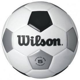 Мяч футбольный Wilson Traditional Wh/Bl/SI SZ5 SS16