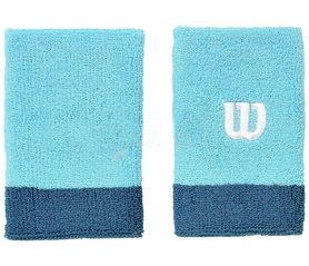 Напульсник Wilson Extra Wide Wristband Water/Blue SS16