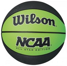 Мини-мячик баскетбольный Wilson NCAA Mini Basketball SS16 Black-Green