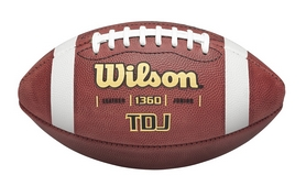 Мяч для американского футбола Wilson TDJ Official JR Football SS16 Brown