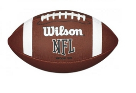 Мяч для американского футбола Wilson NFL Bin Ball Official Football SS16 Brown