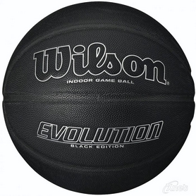 Мяч баскетбольный Wilson Evolution Basketball SS16 Black