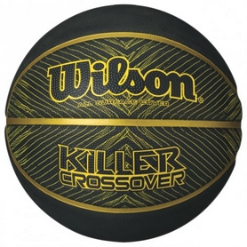 Мяч баскетбольный Wilson Killer Crossover Sponge Basketball SZ7 SS16 Black