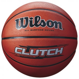 Мяч баскетбольный Wilson Clutch Basketball Brown SZ7 SS16 Brown