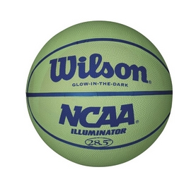 Мяч баскетбольный Wilson Ncaa Illuminator RBR Basketball SZ6 SS16 Green
