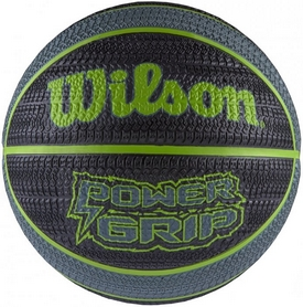 Мяч баскетбольный Wilson Power Grip Basketball SZ7 SS16 Black-Green