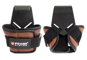 Крюки для тяги Power System Power Hooks PS-3300 коричневые