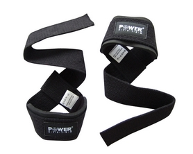 Лямки для тяги Power System Power Straps PS-3400 черные