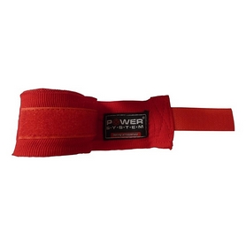 Бинты боксерские Power System Boxing Wraps PS-3404 4м красные