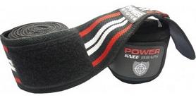 Бинты для приседаний Power System Knee Wraps PS-3700 красные