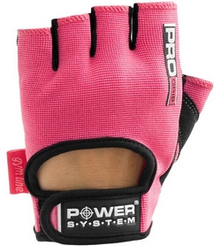 Перчатки для фитнеса Power System Pro Grip PS-2250 Pink