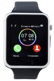 Часы умные SmartYou A1 Black rus + подарок