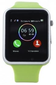 Часы умные SmartYou A1 Green rus + подарок