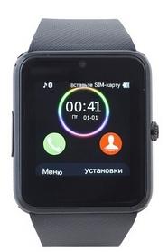 Часы умные SmartYou GT08 Black no NFC + подарок