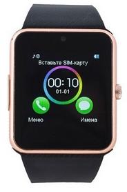 Часы умные SmartYou GT08 Gold no NFC + подарок