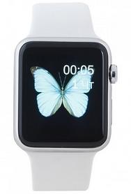 Часы умные SmartYou W10 Silver/White + подарок