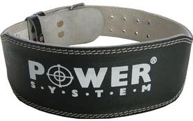 Пояс тяжелоатлетический Power System Power Basic PS-3250 Black