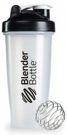 Шейкер BlenderBottle Classic 820 мл Clear/Black с шариком