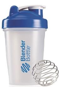 Шейкер BlenderBottle Classic 590 мл Clear/Blue с шариком