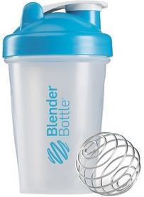 Шейкер BlenderBottle Classic 590 мл Clear/Aqua с шариком