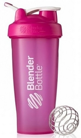 Шейкер BlenderBottle Classic Loop 820 мл Pink с шариком