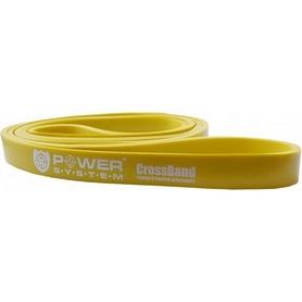 Резинка для подтягиваний (лента сопротивления) Power System Cross Band Level 1 Yellow