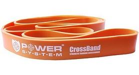Резинка для подтягиваний (лента сопротивления) Power System Cross Band Level 2 Orange