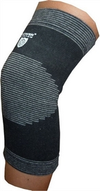 Суппорт колена Power System Elastic Knee Support Black