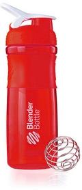 Шейкер BlenderBottle SportMixer 820 мл с шариком Red