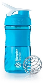 Шейкер BlenderBottle SportMixer 590 мл с шариком Aqua