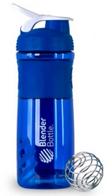 Шейкер BlenderBottle SportMixer 590 мл с шариком Blue