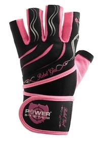 Перчатки спортивные Power System Rebel Girl Pink