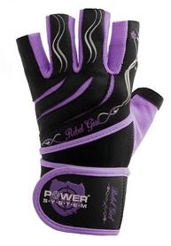 Перчатки спортивные Power System Rebel Girl Purple