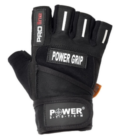 Перчатки спортивные Power System Power Grip Black