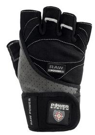 Перчатки атлетические Power System Raw Power Black-Grey