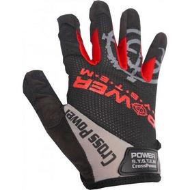 Перчатки спортивные Power System Cross Power Black-Red