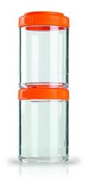 Контейнер для спортивного питания BlenderBottle GoStak 2 Pak Original 300 мл оранжевый