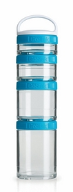 Контейнер для спортивного питания BlenderBottle GoStak Starter 4 Pak Original 350 мл аква