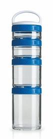 Контейнер для спортивного питания BlenderBottle GoStak Starter 4 Pak Original 350 мл синий
