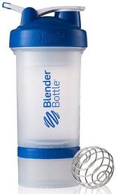 Шейкер BlenderBottle ProStak Original 650 мл с шариком прозрачный/синий